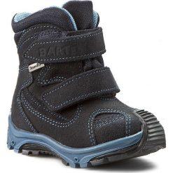 Buty zimowe chłopięce: Śniegowce BARTEK – 11408-W52 Ocean