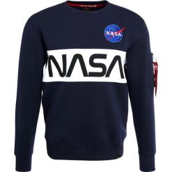 Bejsbolówki męskie: Alpha Industries NASA INLAY  Bluza rep blue