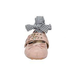 Baleriny Casu  Baleriny wiązane  G-9235. Szare baleriny damskie z wiązaniami marki Casu. Za 49,99 zł.