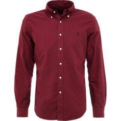 Polo Ralph Lauren OXFORD SLIM FIT Koszula classic wine. Szare koszule męskie slim marki Polo Ralph Lauren, l, z bawełny, button down, z długim rękawem. Za 459,00 zł.