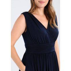 Swing Curve Długa sukienka marine. Niebieskie długie sukienki marki Swing Curve, z dżerseju, marine, z długim rękawem. Za 549,00 zł.