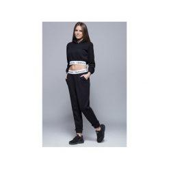 Dresowe bawełniane spodnie H002 czarne. Szare spodnie dresowe damskie Harmony, l, z bawełny. Za 175,00 zł.