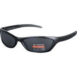Thunder Okulary przeciwsłoneczne czarny. Czarne okulary przeciwsłoneczne męskie aviatory Thunder. Za 54,90 zł.