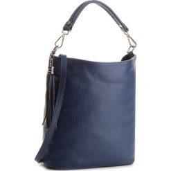 Torebka CREOLE - K10489 Granat. Niebieskie torebki klasyczne damskie Creole, ze skóry, duże. W wyprzedaży za 179,00 zł.