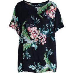 T-shirty damskie: Granatowy T-shirt Redwood