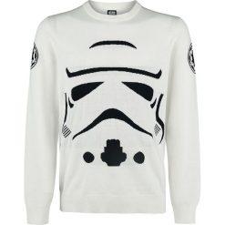 Swetry męskie: Star Wars Stormtrooper Sweter biały