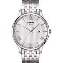 RABAT ZEGAREK TISSOT T -CLASSIC T063.610.11.038.00. Szare zegarki męskie TISSOT, ze stali. W wyprzedaży za 1139,60 zł.