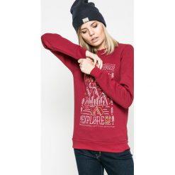 Femi Stories - Bluza Explore. Szare bluzy z nadrukiem damskie marki Femi Stories, m, z bawełny, bez kaptura. W wyprzedaży za 139,90 zł.