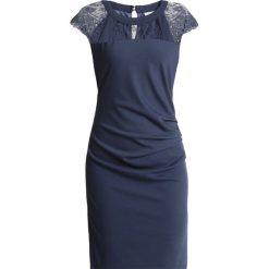Kaffe TANJA INDIA DRESS Sukienka etui vintage blue. Niebieskie sukienki Kaffe, xxl, z dżerseju, vintage, oversize. Za 379,00 zł.