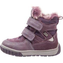 Lurchi JAUFEN TEX Śniegowce purple. Fioletowe buty zimowe damskie marki Lurchi, z materiału. W wyprzedaży za 167,20 zł.