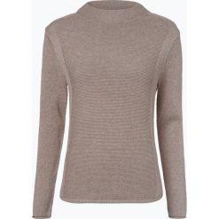 Marie Lund - Sweter damski, beżowy. Brązowe swetry klasyczne damskie Marie Lund, m, z bawełny, ze stójką. Za 229,95 zł.