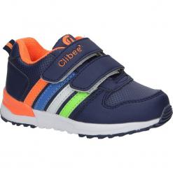 Granatowe buty sportowe na rzepy Casu F-661. Szare buciki niemowlęce Casu, na rzepy. Za 59,99 zł.