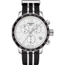 RABAT ZEGAREK TISSOT QUICKSTER T095.417.17.037.07. Czarne zegarki męskie marki KALENJI, ze stali. W wyprzedaży za 1390,40 zł.