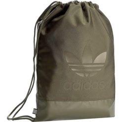 Plecak adidas - Gymsack Sport BK6757 Olicar. Zielone plecaki męskie marki Adidas, sportowe. Za 109,00 zł.