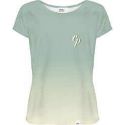 Colour Pleasure Koszulka damska CP-034 258 miętowa r. M/L. Zielone bluzki damskie Colour pleasure, l. Za 70,35 zł.
