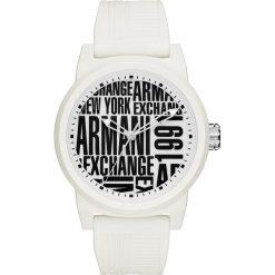 Armani Exchange Zegarek weiss. Czarne zegarki męskie marki Armani Exchange, l, z materiału, z kapturem. Za 579,00 zł.