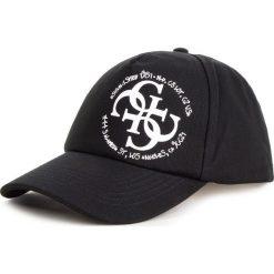 Czapka z daszkiem GUESS - AW8043 COT01 BLA. Niebieskie czapki z daszkiem męskie marki Guess, z materiału. Za 189,00 zł.