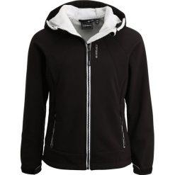 Icepeak RIKA Kurtka Softshell black. Czarne kurtki chłopięce przeciwdeszczowe Icepeak, z bawełny. W wyprzedaży za 191,20 zł.