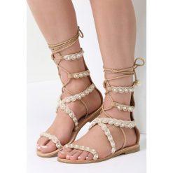 Beżowe Sandały Passionate Move. Czerwone sandały damskie marki vices. Za 79,99 zł.