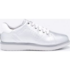 Geox - Buty. Szare buty sportowe damskie marki Geox, z materiału. W wyprzedaży za 219,90 zł.