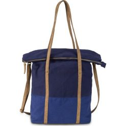 Torba bonprix niebiesko-ciemnoniebieski. Niebieskie plecaki damskie bonprix. Za 79,99 zł.