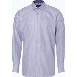 Van Graaf - Koszula męska, czarny. Szare koszule męskie marki S.Oliver, l, z bawełny, z włoskim kołnierzykiem, z długim rękawem. Za 199,95 zł.