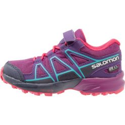 Buty sportowe damskie: Salomon SPEEDCROSS CSWP  Obuwie do biegania Szlak grape juice/evening blue/blue bird
