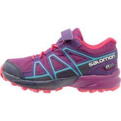 Salomon SPEEDCROSS CSWP  Obuwie do biegania Szlak grape juice/evening blue/blue bird. Fioletowe buty sportowe chłopięce marki Salomon, z gumy, do biegania, salomon speedcross. W wyprzedaży za 157,05 zł.