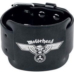 Bransoletki damskie: Motörhead Warpig Banner Bransoletka skórzana standard