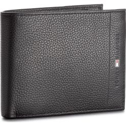 Portfele męskie: Duży Portfel Męski TOMMY HILFIGER - Core Cc Flap & Coin AM0AM02398 002