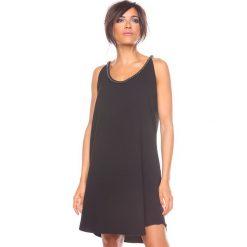 """Sukienki hiszpanki: Sukienka """"Kia"""" w kolorze czarnym"""