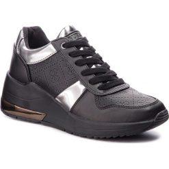 Sneakersy GUESS - FLJAT4 FAL12 BLACK. Czarne sneakersy damskie Guess, z materiału. Za 529,00 zł.