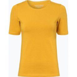 Franco Callegari - T-shirt damski, żółty. Zielone t-shirty damskie marki Franco Callegari, z napisami. Za 39,95 zł.