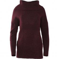 Bordowy Sweter Deluge. Czerwone swetry klasyczne damskie Born2be, na jesień, l, z golfem. Za 99,99 zł.