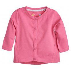 Bluzy dziewczęce: Bluza rozpinana na napy dla dziewczynki 3-36 m-cy