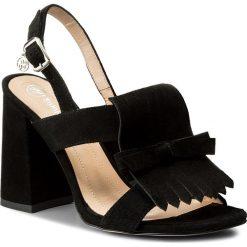 Sandały damskie: Sandały SOLO FEMME – 60816-13-020/000-07-00 CZARNY Czarny