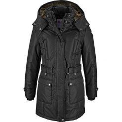Płaszcze damskie pastelowe: Płaszcz zimowy bonprix czarny