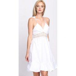 Sukienki: Biała Sukienka Awake The Light