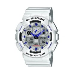Zegarki męskie: Casio G-Shock GA-100A-7AER - Zobacz także Książki, muzyka, multimedia, zabawki, zegarki i wiele więcej