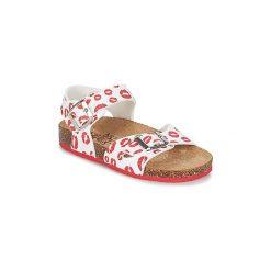 Sandały Dziecko  Primigi  RAPATINE. Białe sandały dziewczęce Primigi. Za 125,30 zł.