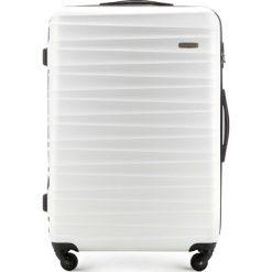 Walizka duża 56-3A-313-88. Białe walizki marki Wittchen, z gumy, duże. Za 199,00 zł.