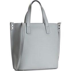 Torebka CREOLE - K10366  Jasny Szary. Szare torebki klasyczne damskie Creole, ze skóry, duże. W wyprzedaży za 279,00 zł.