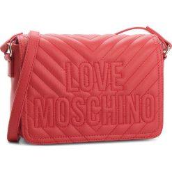 Torebka LOVE MOSCHINO - JC4262PP06KI0500  Rosso. Czerwone listonoszki damskie Love Moschino, ze skóry ekologicznej, bez dodatków. W wyprzedaży za 479,00 zł.