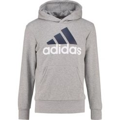 Bluzy męskie: adidas Performance Bluza z kapturem medium grey heather