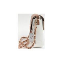 Torba Lulu Bag White Camel Brown. Białe torebki klasyczne damskie Doubleu bag. Za 240,00 zł.