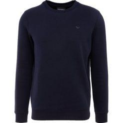 Emporio Armani FELPA Bluza blu scuro. Niebieskie bluzy męskie Emporio Armani, m, z bawełny. Za 589,00 zł.