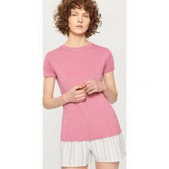 Piżamy damskie: Dwuczęściowa piżama – Różowy