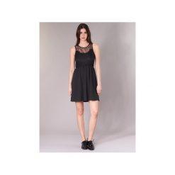 Sukienki krótkie Vero Moda  VMDAGA. Sukienki małe czarne marki Vero Moda, l, z dzianiny. Za 90,30 zł.