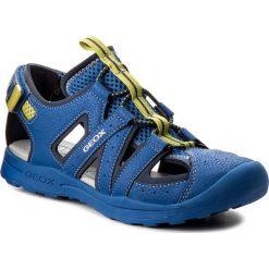 Sandały GEOX - J Vaniett B. A J825XA 015CE C4344 D Royal/Lime. Niebieskie sandały męskie skórzane marki Geox. W wyprzedaży za 189,00 zł.