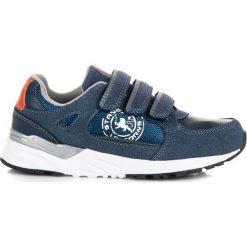 Wygodne buty dla chłopca MONTSERRAT. Niebieskie buty sportowe chłopięce American CLUB. Za 89,99 zł.